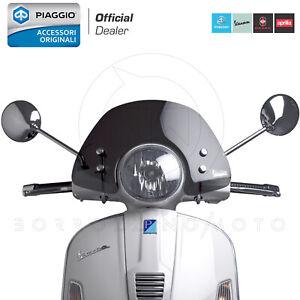 CUPOLINO SPOILER FUME' ORIGINALE VESPA GTS / GT / Granturismo 125 200 250 300