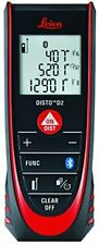 Leica Disto D2 New 330ft Laser Distance Measure With Bluetooth 40 Blackred
