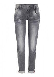 590c800e6ea9 Details zu Timezone Damen Jeans Romy Jogg - Regular Fit - Grau - Light Grey  Wash