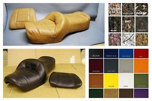 BLACK STITCH CUSTOM FITS HONDA GOLDWING GL 1500 88-00 DUAL ...   Goldwing Leather Seats
