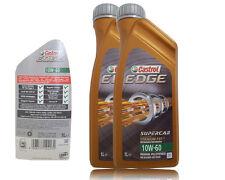 Castrol EDGE 10W-60 TITANIUM FST 2x1 Liter VOLLSYNTHESE  ACEA A3/B4 BMW M3 M5