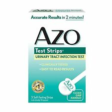AZO Test Strips Urinary Tract Infection Test Accurate Results i... Free Shipping