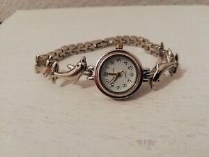 montre a quartz ancienne vintage marque louis jourdan dauphin