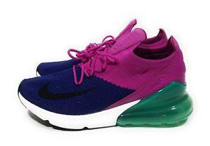 New Blue Nike Air Max Lunar90 Flyknit Chukka Shoes For Men