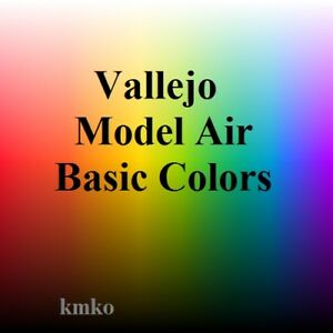 Vallejo-Model-Air-Basic-Colors-13x17ml-15-29-100ml