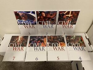 Civil War #1 2 3 4 5 6 7 NM+/M Complete Set 1st prints Marvel Comics 2006 MORE!!