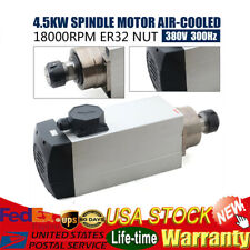 45kw Air Cooled Spindle Motor Er32 380v 18000rpm Woodworking Cnc Router