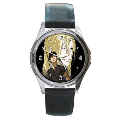 Hot Riki Mink Iason Ai no Kusabi Manga Anime Leather Wrist Watches Gift New