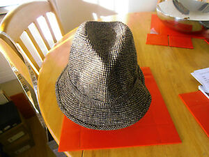 Image is loading Bates-Genuine-Donegal-Tweed-Country-Hat-size-7 ade03f7aa3c8