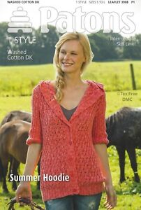 b09c49084 Image is loading VAT-Free-Knitting-PATTERN-ONLY-Patons-Ladies-Summer-