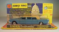 Corgi Toys 262 Lincoln Continental with Lehmann Peterson Bodywork rares blau OVP