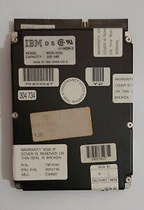 IBM WDS-3200 SCSI Festplatte (200MB, 50-pol., 1992)