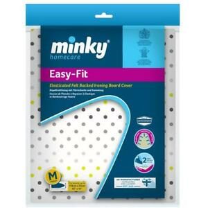 Minky Easy Fit Elasticated Ironing Board Cover 110 cm x 35 cm Sequins Design  </span>