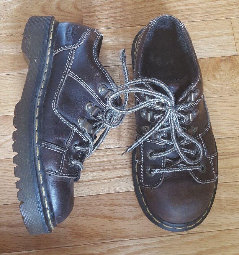 Dr. Marten Women's Brown Oxford shoes US Size 6 UK Size 4