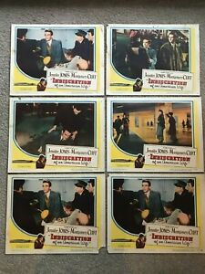 6-Original-Lobby-Cards-11x14-Indiscretion-of-an-American-Wife-1953