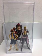 One Piece Super Modeling Soul Lot of 4 in Acrylic Case