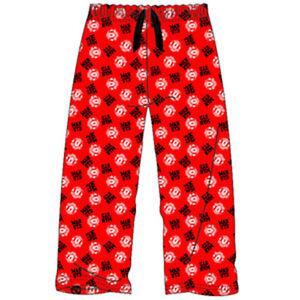 Official Licensed Mens Barcelona FCB Lounge Bottoms Pyjamas Pjs S M L XL SALE