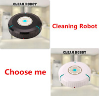 Robotic Automatic Auto Cleaning Wool Hard Floor Sweeping Mopping Cleaner Dirt