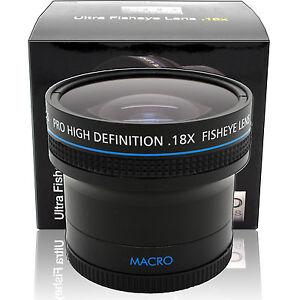18x Ultra Fisheye Objectif Grand Angle Pour Nikon D3400 D3300 D5500 D5300 Dslr Caméra Ebay