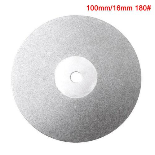 6//4 Inch 150//100mm Diamond Coated Flat Lap Disc Jewelry Polish Grinding Wheel
