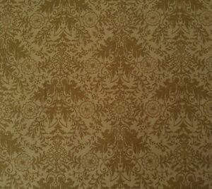 Stafford BTY Antiquities Quilting Treasures Civil War Mini Floral Olive Green
