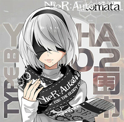 NieR:Automata YoRHa No 2 Type B Poster Anime Wall painting 8 pcs 42*29cm