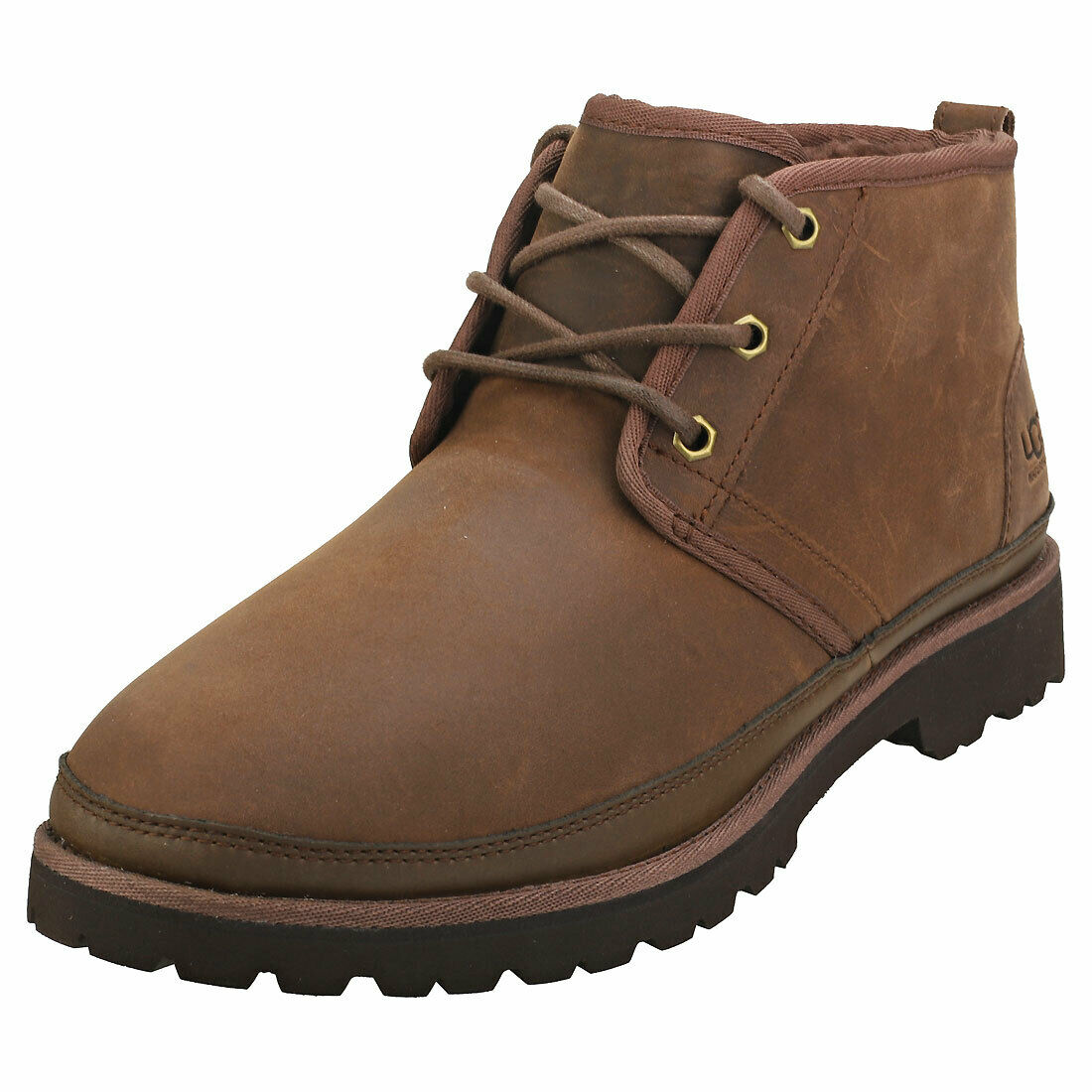 UGG Neuland Mens Grizzly Leather & Synthetic Casual Boots