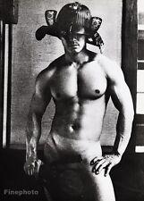 1960's Vintage Asian MALE NUDE WARRIOR Samurai Japan Muscle 16x20 ~ TAMOTSU YATO