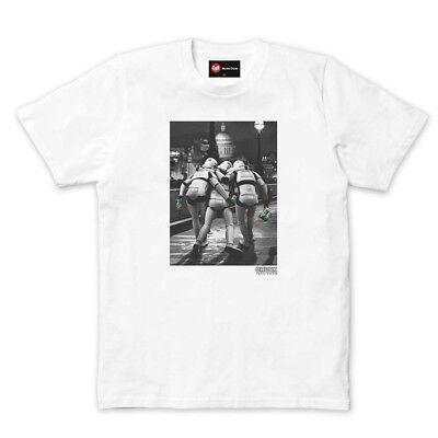 Chunk Star Wars Walking Camper Van Navy T-Shirt