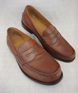 ebafe8416ca536 COLE HAAN Grand OS Brown Leather Pinch Maine Classic Men s 9 M Penny ...