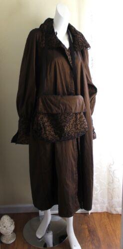 Mycra Pac Sz S M Bronze Art-to-Wear Amazing Long A