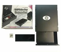 Computer 5.25 Inch Drive Bay Storage Drawer Box Tray For Dvd/cd Rom Pc Disc