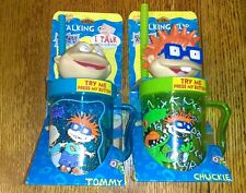 Nickelodeon's Rugrats talking cup set Tommy and Chuckie