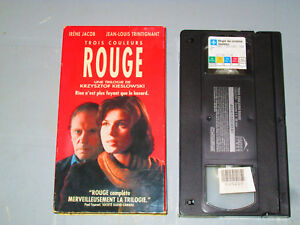 Trois-Couleurs-Rouge-Three-Colors-Red-VHS-French-Irene-Jacob-Teste
