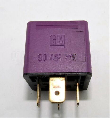 Vauxhall Saab Fuel Pump 4-Pin Purple Relay Bosch 0332019452 GM 90464759 12V 30A