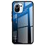 miniatura 8 - COVER per Xiaomi Mi 11 Lite CUSTODIA ORIGINALE Gradient Glass + VETRO TEMPERATO