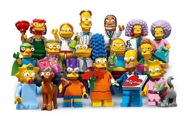 LEGO Minifigures - 71009 - The LEGO Simpsons 2 - kompletter Satz alle 16 Figuren