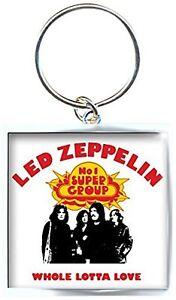 Led Zeppelin Whole Lotta Love Bild image Metall Schlüsselbund offiziellen