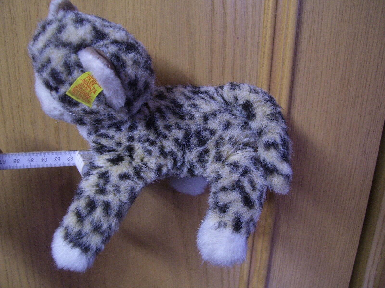 Alte Steiff  Katze Steiff Cat Tabby Knitted Fur 2732/17 1979 - 1983