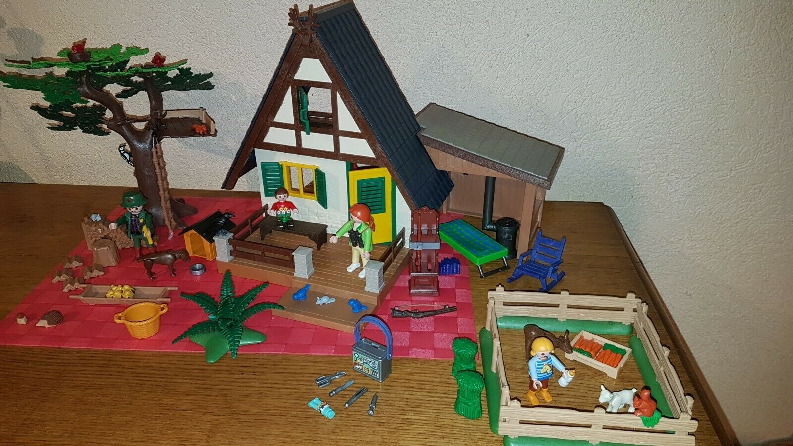 Playmobil - 4207 - Maison forestière - Compléte - Boite