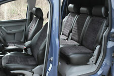 Auto Sitzbezüge Schonbezüge Maß Kunst Leder VW Touran 2003 - 2010