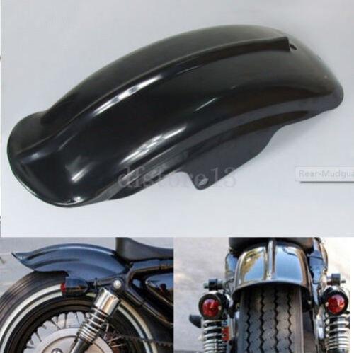 Moto Garde boue arrière Aile Pour Harley Bobber Chopper Sportster Cafe Racer