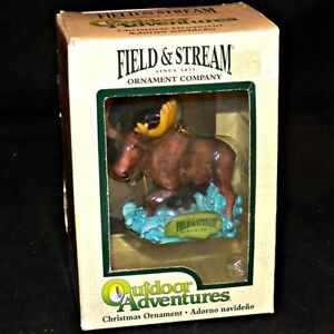 Kurt-S-Adler-Field-and-Stream-Outdoor-Adventures-Moose-Christmas-Ornament