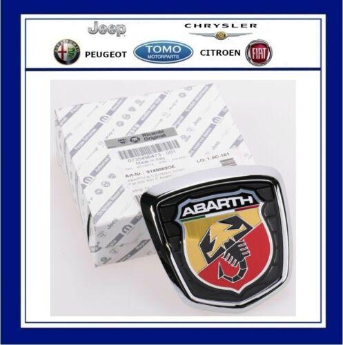 Genuino Nuevo Fiat 500 Abarth Portón Trasero Arranque Insignia 735496473