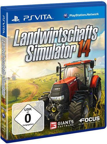 1 von 1 - Sony Playstation Vita PSV PSVita Spiel * Landwirtschafts-Simulator 2014 *14 *NEU