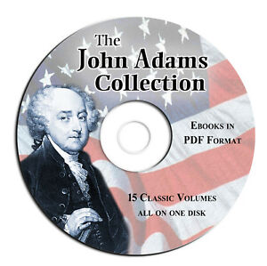 JOHN-ADAMS-COLLECTION-CD-PDF-eBook-USA-American-History-Autobiography-President