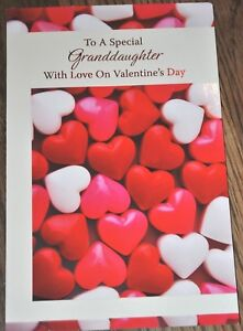 Bella Greetings Card #11175 VGDA-To A Special Granddaughter...Valentine/'s Day