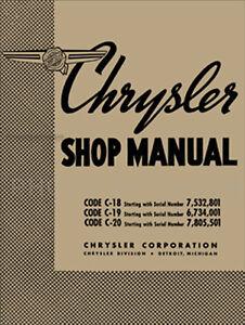 1938 chrysler shop manual 38 royal and imperial repair base for 1939 rh ebay com chrysler shop manuals online chrysler service manual pdf