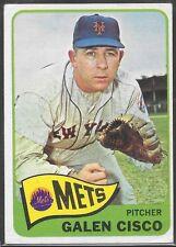 1965 Topps Galen Cisco #364 Baseball Card