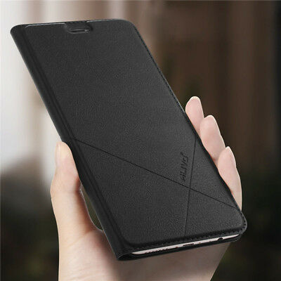Luxury Leather Flip Wallet Case For Huawei P20 Pro P10 P9 P8Lite Mini 2017 Smart